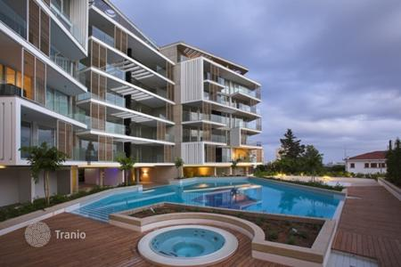 Apartments with pools by the sea for sale in Neapolis. Apartment – Neapolis, Limassol (city), Limassol,  Cyprus