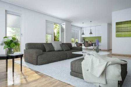 Residential for sale in Germany. Modern apartment with a large terrace in a new building in the Herdt district
