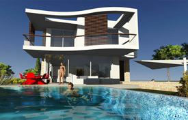Luxury 4 bedroom houses for sale in Paphos. Stylish villa with a terrace, a pool and a large plot, near the beach, Coral Bay, Paphos, Cyprus