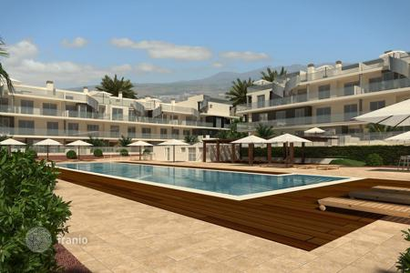 New homes for sale in Tenerife. Apartments with terrace in new residential complex with an observation deck overlooking the mountains, in the area of Sotavento, Tenerife