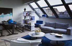 2 bedroom apartments for sale in Budapest. Furnished penthouse with a terrace, in the V district of Budapest, Hungary