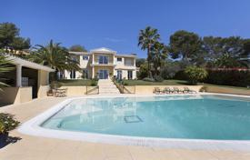Luxury 4 bedroom houses for sale in Mougins. Secured villa with a park, a swimming pool and an independent studio in a quiet residence, Mougins, France