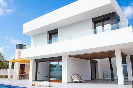 Houses with pools for sale in Moraira. The modern two-storey villa with private pool and landscaped garden, Moraira, Costa Blanca, Spain