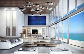 Comfortable apartments with terraces in an oceanfront residence with a large club, bars and a restaurant, Sunny Isles Beach, USA for 4,150,000 $