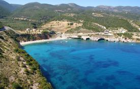 Coastal development land for sale in Administration of the Peloponnese, Western Greece and the Ionian Islands. Zakynthos. Seaside unique plot of 7,000 sqm, at the Makris Gialos Volimon Zakynthou