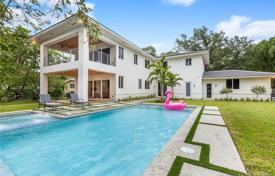 Cozy villa with a backyard, a pool, a relaxation area, a terrace and a garage, Miami, USA for $1,799,000