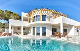 Designer villa with panoramic views of the sea and Es Vedra island, on a plot with a pool, gardens and a parking, San Jose, Ibiza, Spain for 19,000 € per week