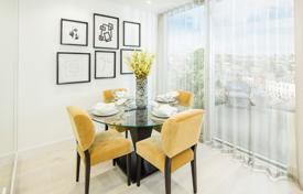 Residential for sale in London. Luxury apartment with a balcony in a new residence with a concierge and a garden in the city center, London, UK