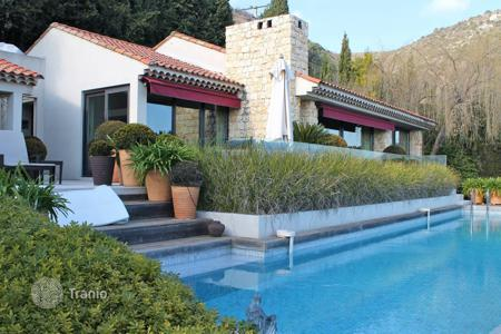 Cheap houses with pools for sale in France. Vence — Panoramic sea view