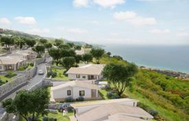 Townhouses for sale in Calabria. Four-room townhouse with a rooftop terrace and a garden in a new residential complex with a pool, Zambrone, Calabria, Italy