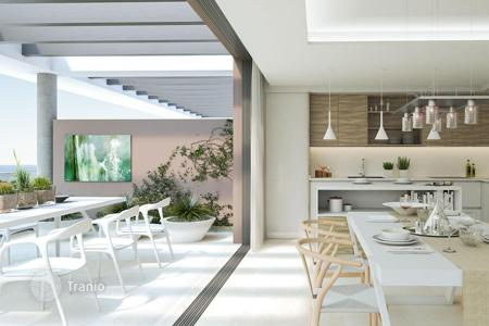 Residential for sale in Cancelada. Open-plan apartments with terraces, in a new residential complex with pools and gardens, close to the beach, Cancelada, Spain