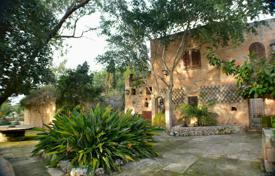 Ancient seaview farmhouse on a large plot with an olive grove, an orchard and a swimming pool, Dingli, Malta. Price on request