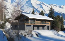 Luxury chalets for sale in Alps. New two-storey chalet with a balcony and a terrace, in a quiet and popular area, Nendaz, Swiss Alps