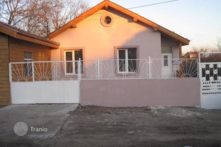 Cheap property for sale in Burgas (city). For sale a fully renovated two-storey house, 13 km from the beach in Sarafovo area, in Rudnik area, Burgas Municipality