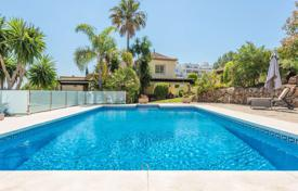 Houses for sale in Puerto Banús. Three-level villa with a pool in Puerto Banus, Costa del Sol, Spain