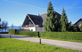 Property for sale in Slovenia. This is a large 4 bedroom house at the end of the village with garden and terrific views
