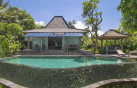 Property for sale in Bali. Luxury furnished villa with a private plot, a garden, two swimming pools and panoramic views, close to the beach, Pererenan, Bali
