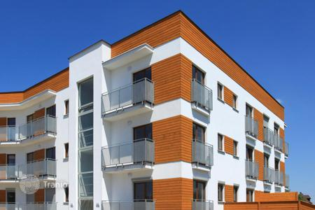 Off-plan residential/rentals for sale in Germany. Apartment building under construction in Frankfurt with a 4,7% yield