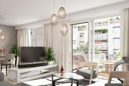 Condos for sale in Europe. Comfortable duplex with a balcony and a terrace in a modern condominium, Vienna, Austria