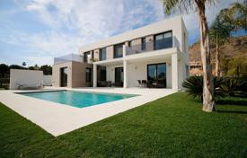 High-tech style villa Benidorm, Spain. Private pool, solarium. Views over the sea and mountains. for 525,000 €