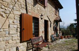Coastal houses for sale in Emilia-Romagna. Ancient stone villa with a garden in Vigoleno, Piacenza, Emilia-Romagna, Italy