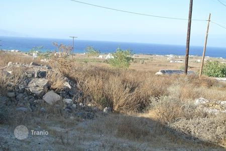 Coastal development land for sale in Santorini. Development land – Santorini, Aegean, Greece