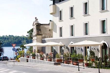 Commercial property for sale in Italian Lakes. Four-star hotel with restaurant, just 150 meters from the waterfront of Lake Garda, Salo. The yield of 4,8%