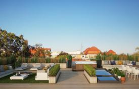 Penthouses for sale in Germany. Penthouse with a pool, a terrace and a balcony in a luxurious small apartment residence with a parking, Westend district, Berlin, Germany