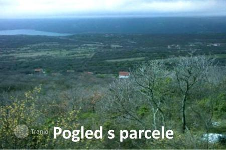 Cheap land for sale in Istria County. Building land Attractive building plot on the sea with beautiful view
