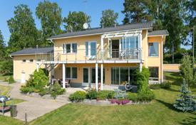 Houses for sale in Finland. Stone house with a terrace and sea views in the exclusive area of Helsinki, Finland