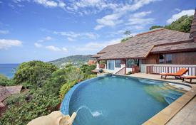 Four bedroom-villa with a pool and terraces enjoying beautiful sea views, Patong, Phuket, Thailand for $2,625,000