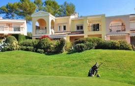 Cheap houses for sale in Côte d'Azur (French Riviera). New villa with terraces and a garage, in a prestigious residence with a golf club, Mougins, France
