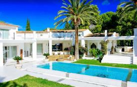 Comfortable villa with two swimming pools and sea views, Ibiza, Spain for 48,000 € per week