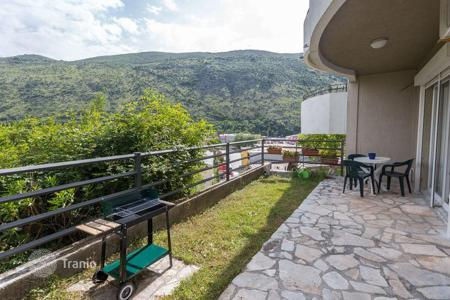 Coastal residential for sale in Herceg-Novi. One-bedroom apartment in Herceg Novi (Igalo) with hill view