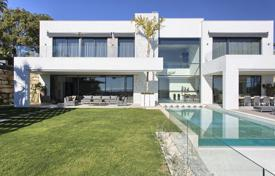 Modern villa with a private garden, a pool, a garage, terraces and sea views, Benahavis, Spain for 3,700,000 €