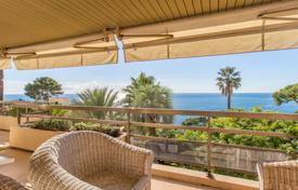 2 bedroom apartments for sale in Cap d'Ail. Two-bedroom apartment with a terrace and a panoramic sea view, in a prestigious residence with 2 pools, Cap d'Ail, France