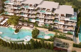 Apartments for sale in Mijas. Modern apartment with a terrace in a new residential complex with gardens, swimming pools and all amenities, Mijas, Spain