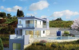 Off-plan houses for sale in Cyprus. Spacious villas in a prestigious development in Pafos, Cyprus
