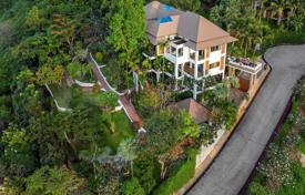 Four-level villa with ponds and a pool, Bang Por, Surat Thani, Thailand for $1,916,000