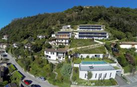 Apartments for rent with swimming pools in Switzerland. New home – Morcote, Ticino, Switzerland