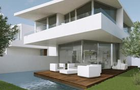 Property from developers for sale in Spain. New villa with pool and garden in a unique location on the seafront in Cambrils, Costa Dorada
