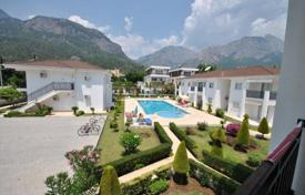 Cheap apartments with pools for sale in Western Asia. The apartment is in a cozy complex with communal swimming pool in Goynuk, Kemer