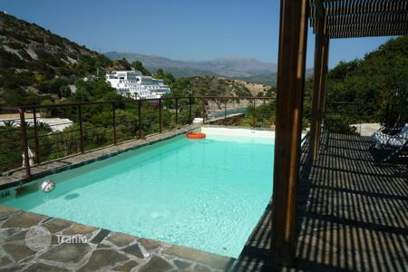 4 bedroom villas and houses by the sea to rent in Europe. Villa - Agios Nikolaos, Crete, Greece