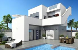 Cheap houses for sale in Ciudad Quesada. New 3 bedroom villas with private pool and parking space, big terraces and solarium in Rojales