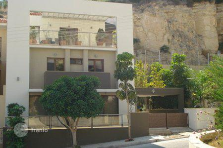Townhouses for sale in Limassol. Comfortable 5 bedroom semi detached house in Limassol, Cyprus