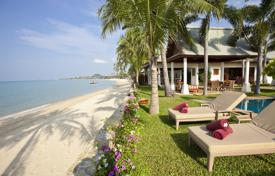 Villas and houses by the sea for rent with swimming pools in Ko Samui. Villa near the sea in the area of Maenam