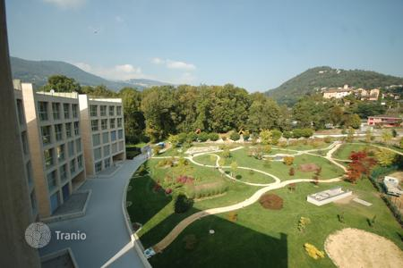 2 bedroom apartments from developers for sale in Central Europe. New residence located on the shores of lake Lugano