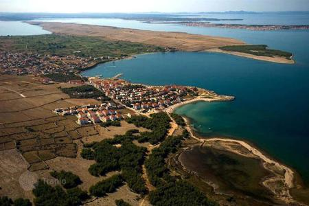Coastal land for sale in Croatia. Development land - Pag, Litsko-Senskaya County, Croatia