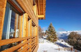 Chalets for rent in Swiss Alps. The two-story chalet with 4 bedrooms, a kitchen, a living room with a fireplace, a terrace and a garden, Verbier, Switzerland