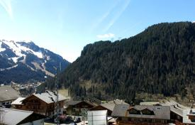 Apartments for sale in Chatel. Three-bedroom apartment with а balcony, in a new residence, next to the ski slope and the cable car, Chatel, France